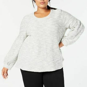 Style & Co 2X Bishop Sleeve Sweater NEW D3-02